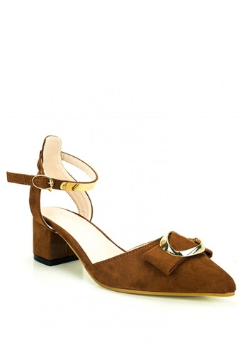 Cardam's Lifestyle brown Alexia Closed Heels 212B6SH56B1BA2GS_1