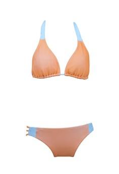 ORANGE MESH BLEND tri-adj bikini