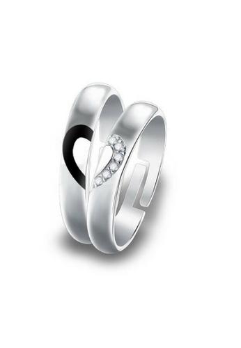 fc527905d2 Buy Vivere Rosse Unbreakable Bond Couple Ring Online | ZALORA Malaysia