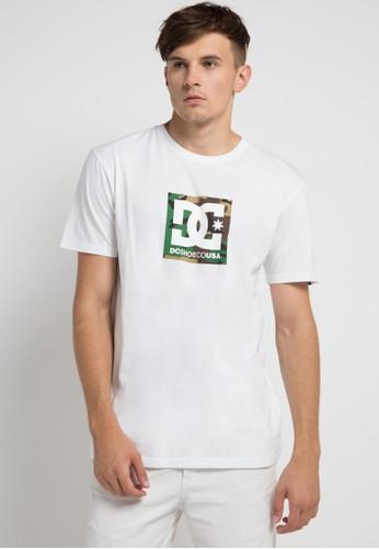 DC white Camo Boxing Short Sleeve 7685FAA145B1F2GS_1