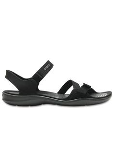 591c13932f85 Crocs black Crocs Women s Swiftwater Webbing Sandal Blk CR883SH0SI9HMY 1