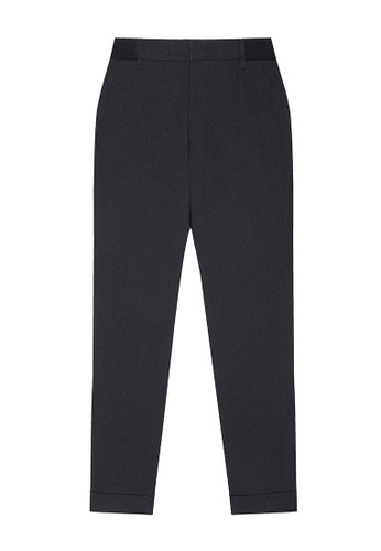 D'urban grey Cropped Tailored Trousers 57314AA16E39D1GS_1