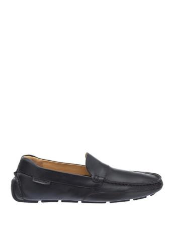 Sebago black Kedge Venetian Driving Shoes SE328SH18OWBPH_1