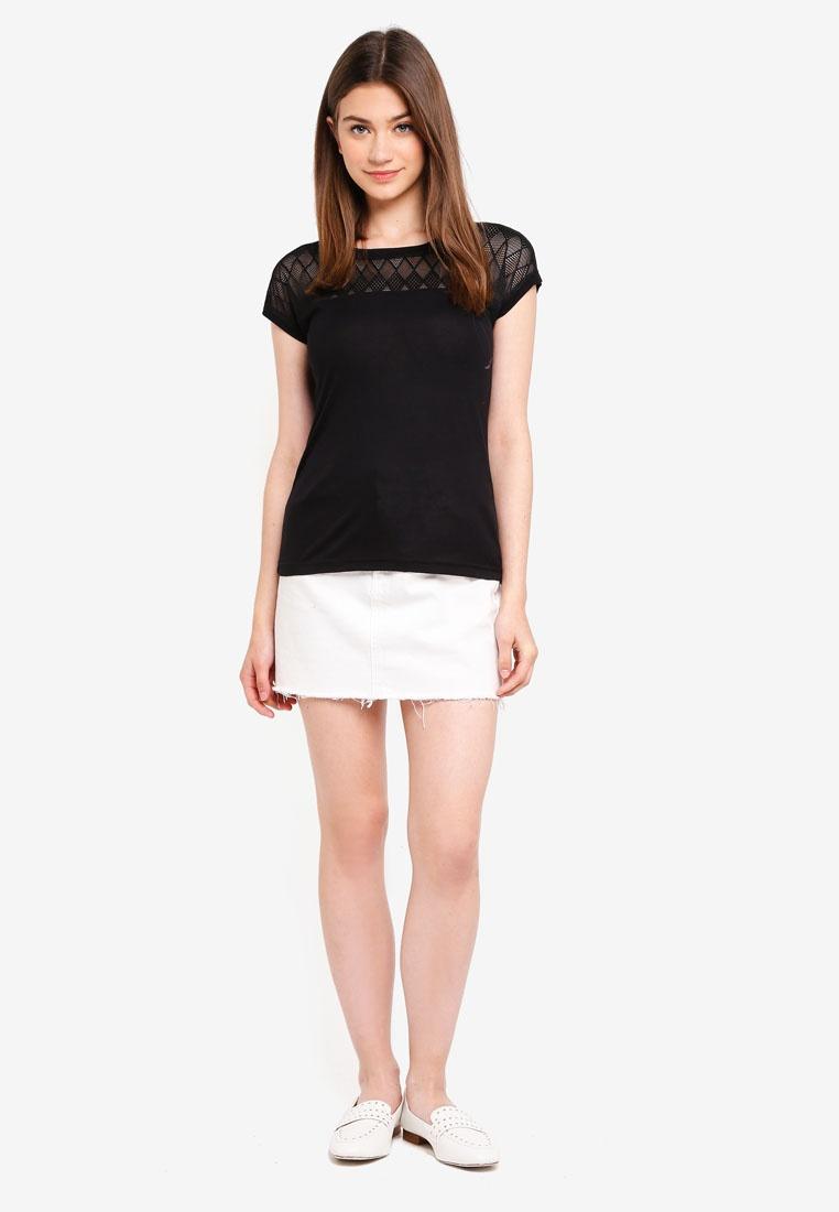 Renee Dtm Lace Lace JACQUELINE DE Top YONG Black Exqn7zYP
