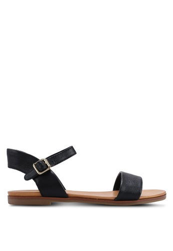 b0096555c34d ALDO black Eterillan Ankle Strap Sandals 0D0EDSHEB6BDFEGS 1