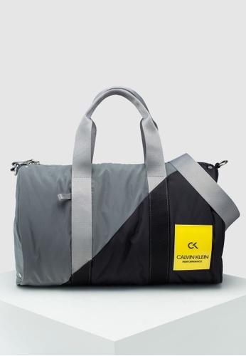 85d4756fce00a Calvin Klein black Small Duffle Bag - Calvin Klein Performance  5B6ECACA2434B1GS 1