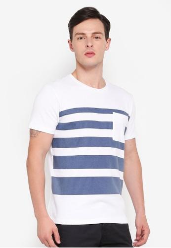 ESPRIT blue Short Sleeve T-Shirt 09287AA9505F36GS_1
