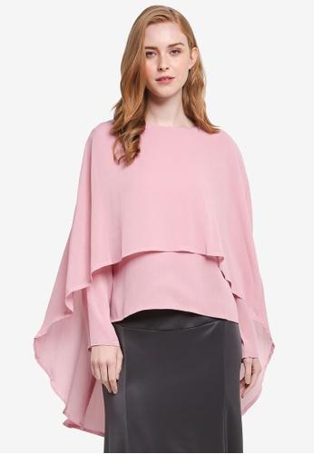 BYN pink Muslimah Blouse 488BBAA3968EC4GS_1