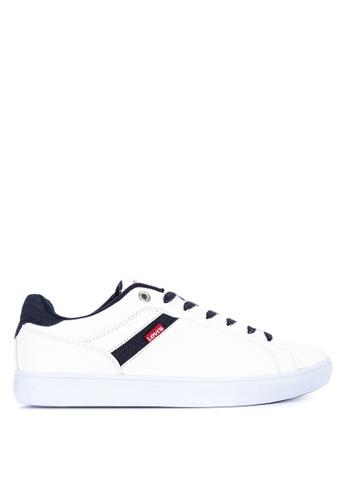 Levi's white Henry Denim Sneakers LE892SH0KDBKPH_1