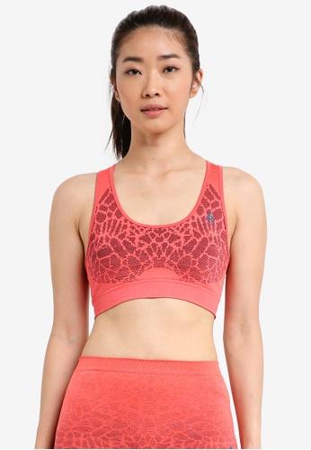 Odlo pink Blackcomb Seamless Medium Sports Bra 0DB2FUS233EE8DGS_1