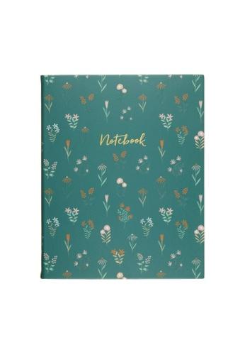 Klosh Journal - Desk Sized Eccolo - Micro Floral 8822CHLC412378GS_1