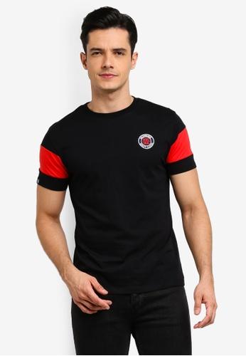 Volkswagen 黑色 品牌印花T恤 15F20AADC79028GS_1