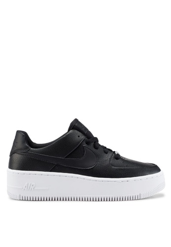 outlet store 2cb18 058b2 Nike black Nike Air Force 1 Sage Low Shoes D69FFSHA9CF32CGS1