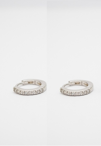 Miliyah Co silver Cz Hoop Earring 0C21AACBFB5351GS_1