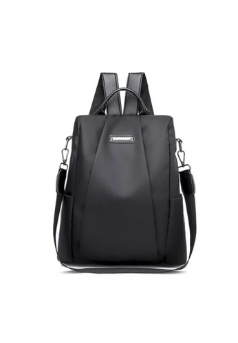 Lucky JX black Oxy Korean Durablle Backpack 36AE1ACBE9F7AFGS_1