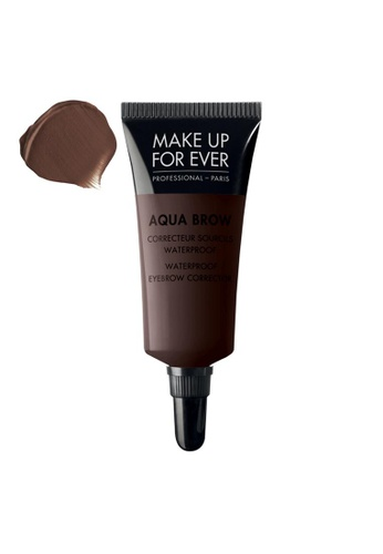MAKE UP FOR EVER brown AQUA BROW - Waterproof Eyebrow Corrector #30 57D3EBE52B35B3GS_1
