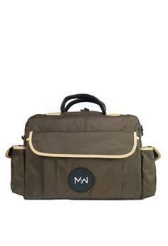 harga M2W TB001 Waterproof Travel Bag - Brown Zalora.co.id