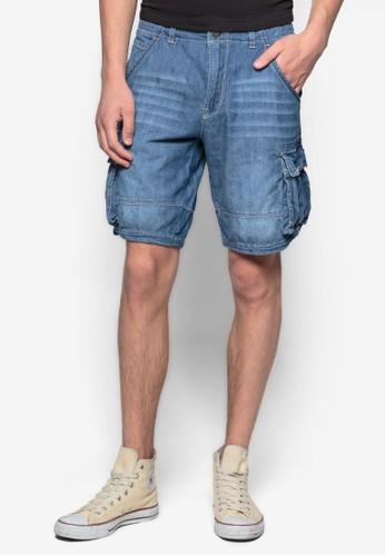 休esprit門市地址閒牛仔短褲, 服飾, 短褲