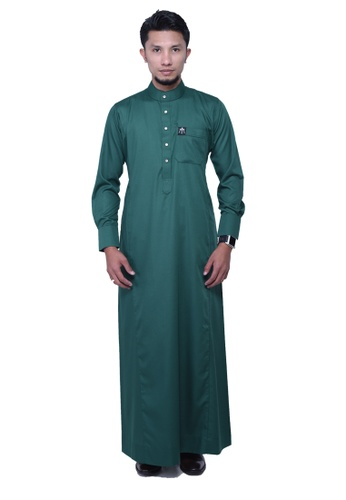 Maribeli Butik green MB Man Zulqarnain Emerald Green MA905AA53BUGMY_1