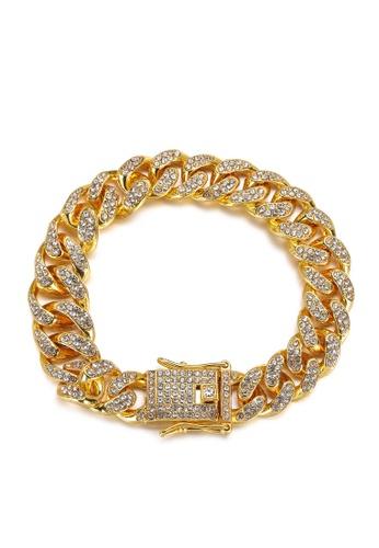 HAPPY FRIDAYS Stylish Zircon Alloy Bracelet DWX0741 C63B7ACB4BC696GS_1