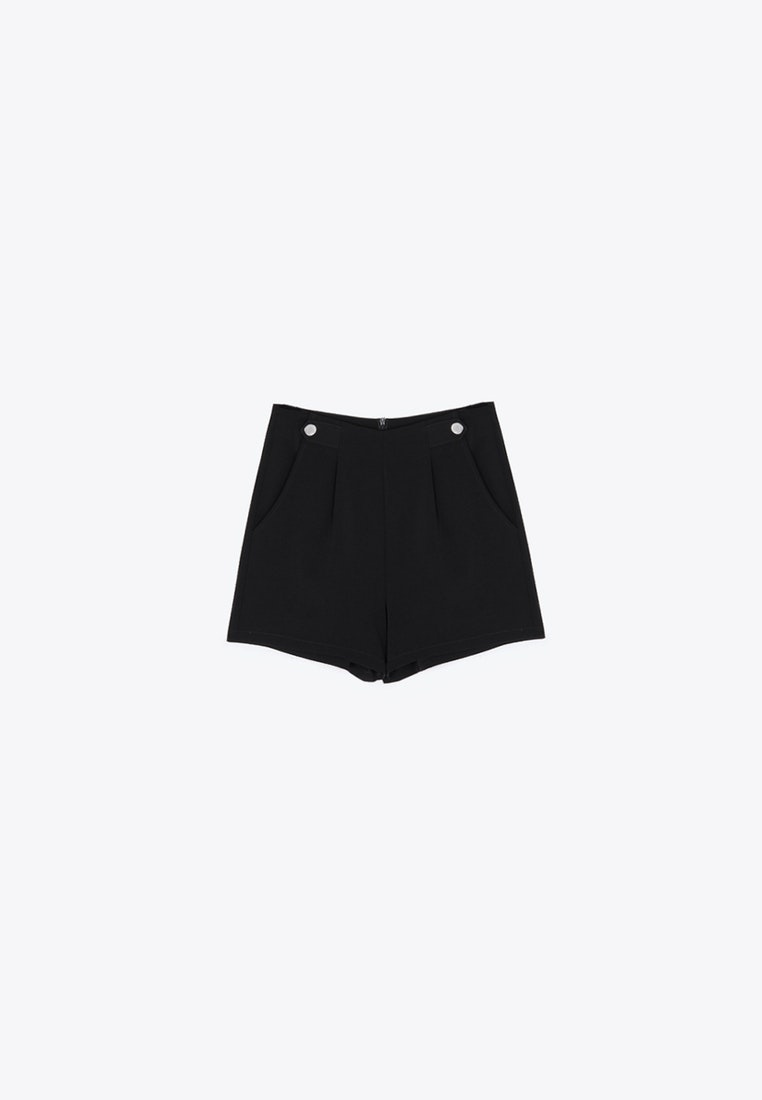 High Waist Black Shorts Robin Pomelo xOZ7wqf0gn