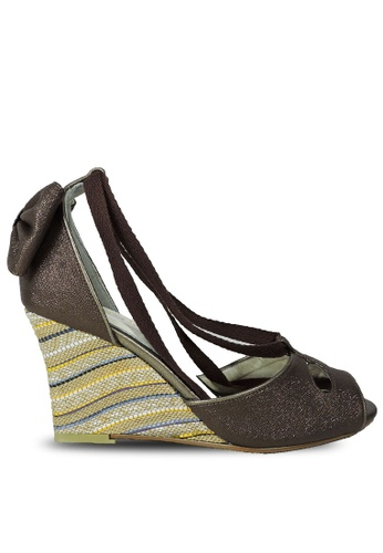 Jacque brown Roxanne Bronze Wedge JA262SH77NFIMY_1