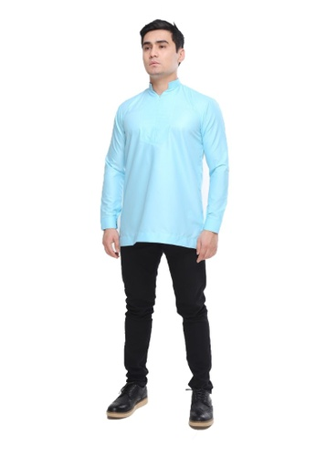 Amar Amran blue Kurta Qardhawi 005AAAAFFFD8D9GS_1