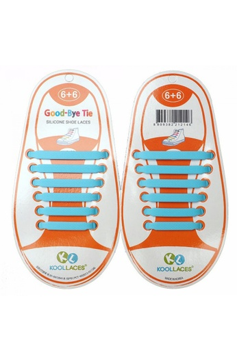 Fashion by Latest Gadget blue No Tie Silicone Shoe Laces Size For Children FA499SH44WXZPH_1