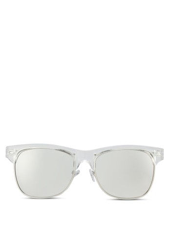 esprit outlet台北Compston 半粗框太陽眼鏡, 飾品配件, 方框
