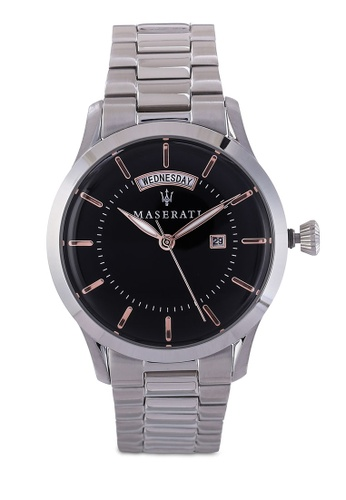 Maserati silver Tradizione 40mm Bracelet Watch MA410AC81HHIMY_1