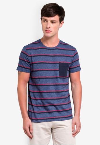 ESPRIT 海軍藍色 短袖T恤 9E0D0AAD9B0E23GS_1