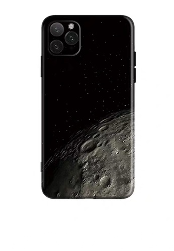 HAPPY FRIDAYS Moon Black IPhone Protective Printed Case DM14 39C7BACD1E2A30GS_1