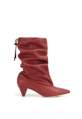 RABEANCO red RABEANCO NOORA Ankle Boots - Red 45E6BSH4D1F610GS_1