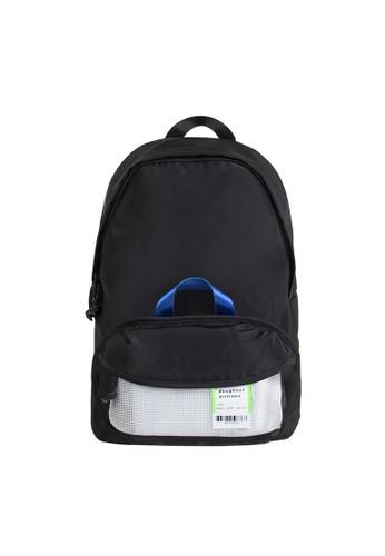 Doughnut black Dn Airlines Id Tag Backpack 30EB1AC3FF617BGS_1
