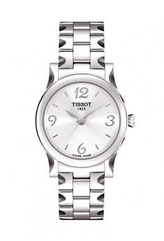 harga Jam Tangan Wanita TISSOT STYLIS-T T0282101103700 Stainless Steel Silver Zalora.co.id