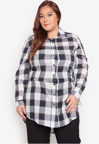 Multiples multi Alexandra Plus Size Blouse MU055AA0JP88PH_1
