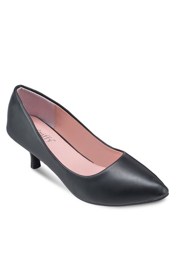 經典尖頭低跟鞋, esprit outlet台北女鞋, 鞋