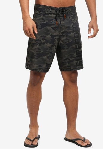Superdry green Deep Water Board Short BCA77US97ADC5EGS_1