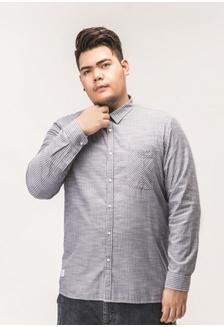 3493ceeadaf58 Plussize SG Stripe Long Sleeve Plus Size Shirt A888FAAE3B39CCGS 1 JSMIX ...