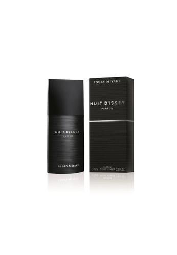 Issey Miyake black Nuit d'Issey Parfum 75ml 1F74FBE0621C54GS_1