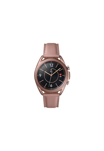 Samsung pink and gold Samsung Galaxy Watch3 Bluetooth (41mm) Stainless Steel Mystic Bronze. 8BC39HL1830A02GS_1