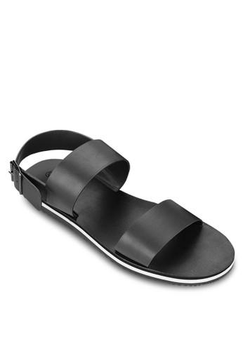 雙帶寬帶露趾esprit暢貨中心涼鞋, 鞋, 拖鞋