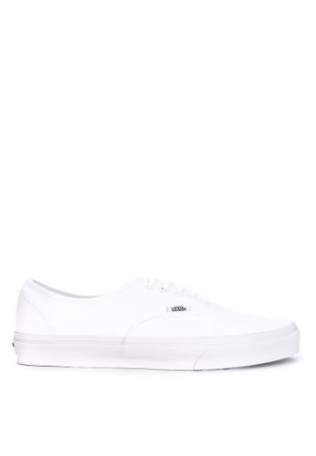 VANS white Authentic Sneakers 52315SH64D0955GS_1