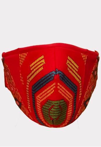 Masker Ferry Sunarto FS Classic Abstrak  Merah DD51EESDB8D8A0GS_1