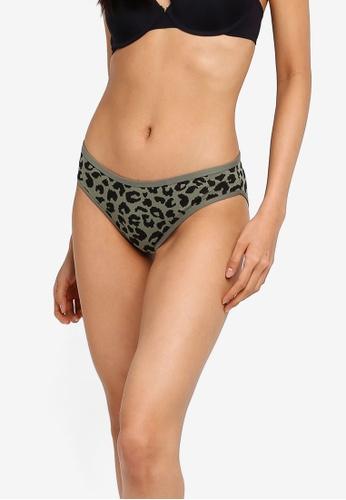 Cotton On Body multi Cotton Flat Elastic Bikini Brief 788C3US68B1012GS_1