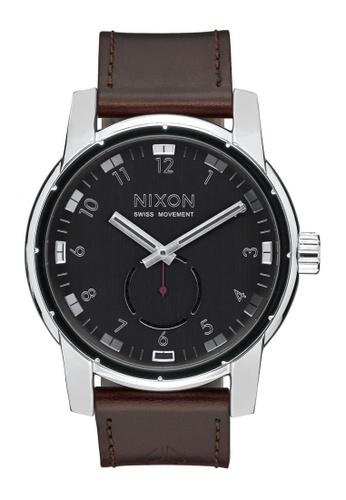 Nixon black Nixon - Patriot Leather - Black NI855AC95OGESG_1