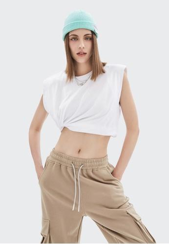 Twenty Eight Shoes Loose-Fitting Sleeveless T-shirt 6322GS21 7FCA2AA56EC1B1GS_1