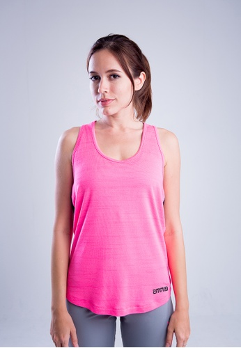 AMNIG pink Amnig Women Flex Pro Strap Back Tank Top 9A7BFAAC0BE539GS_1