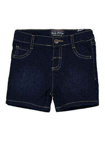 LC Waikiki blue Regular Fit Baby Boy Denim Shorts 8A386KA9AD72F4GS_1