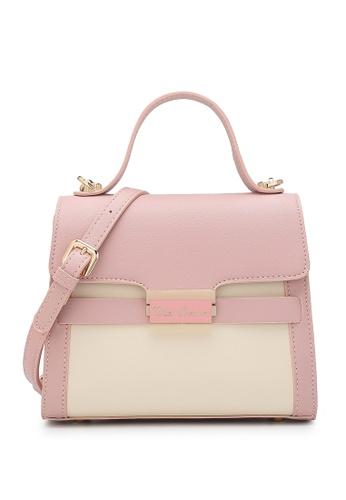 Wild Channel pink Women's Hand Bag / Top Handle Bag / Shoulder Bag 9AF3DAC7D387DBGS_1